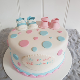 Gender reveal cake from $140