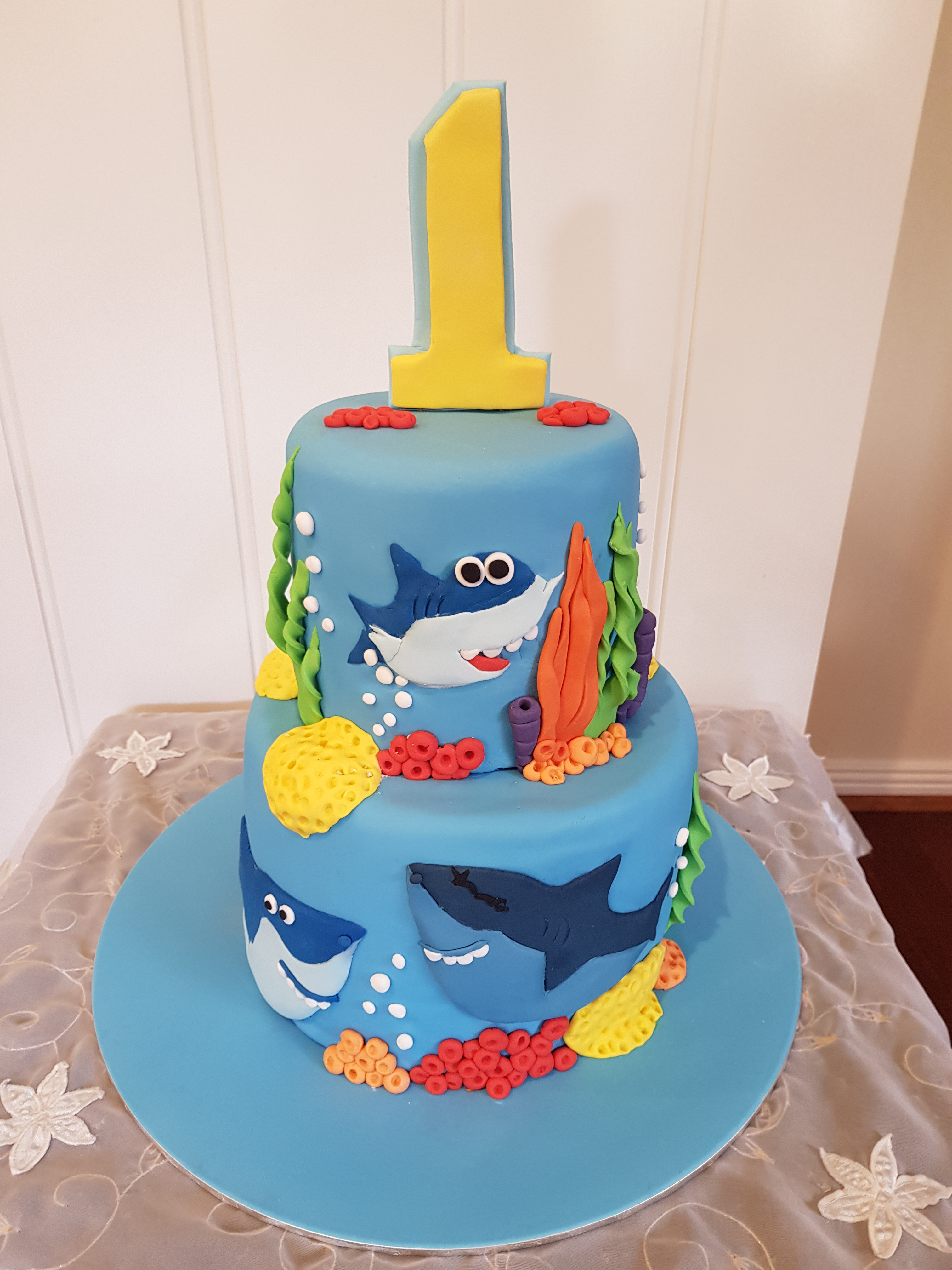 Baby Shark cake from $270
