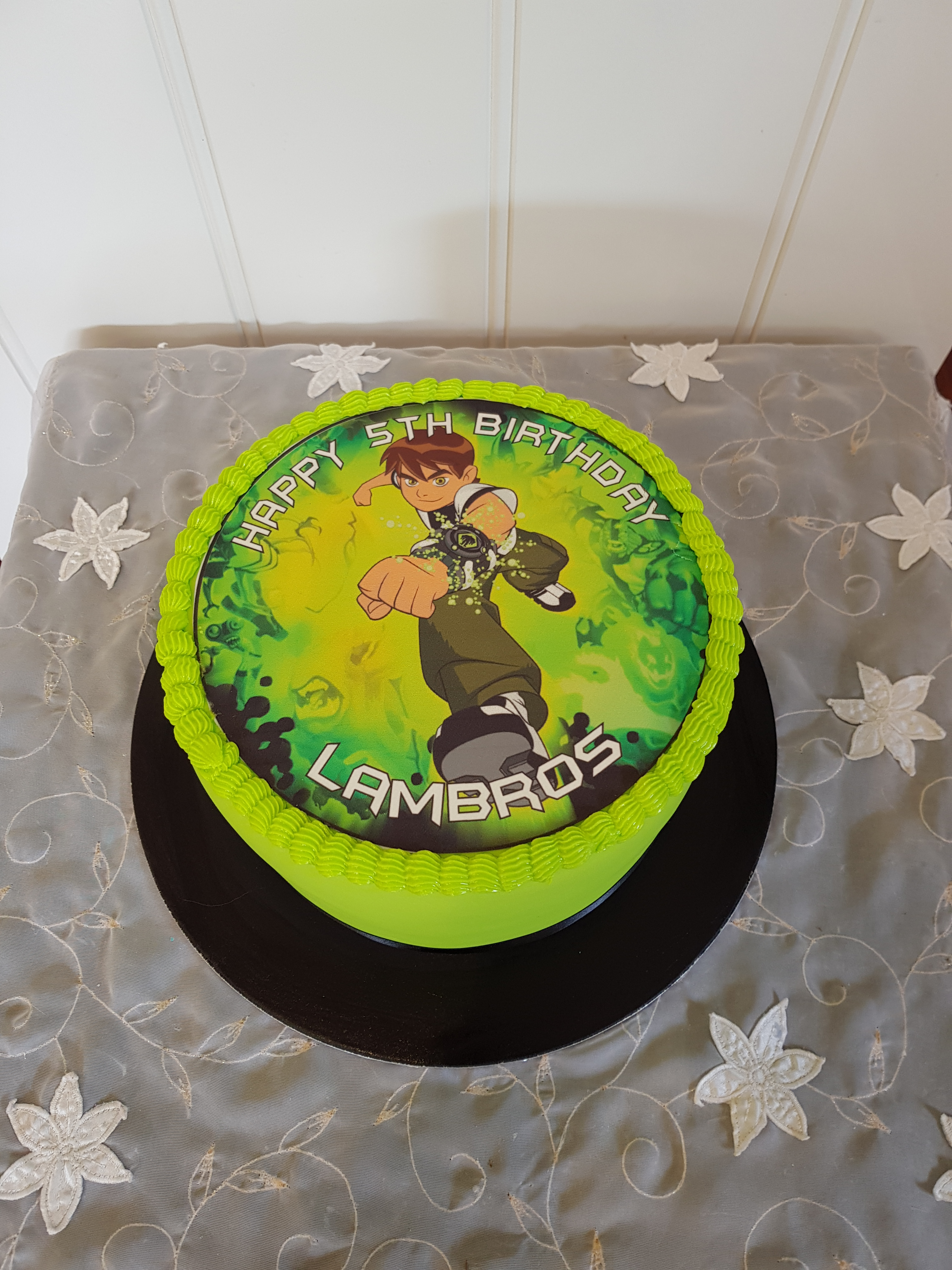 Ben 10 cake from $120