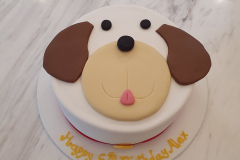 Puppy Dog face cake from $120