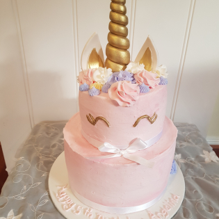 2 tier Unicorn cake from $180