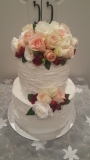 Buittercream wedding cake from $280