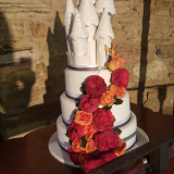 Castle Wedding Cake From $950
