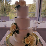 Classic Elegant Wedding Cake From $550